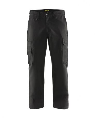 "CLEARANCE Blaklader 1400 Cargo Trousers 100% Cotton (Black) C154 38""W 34""L"